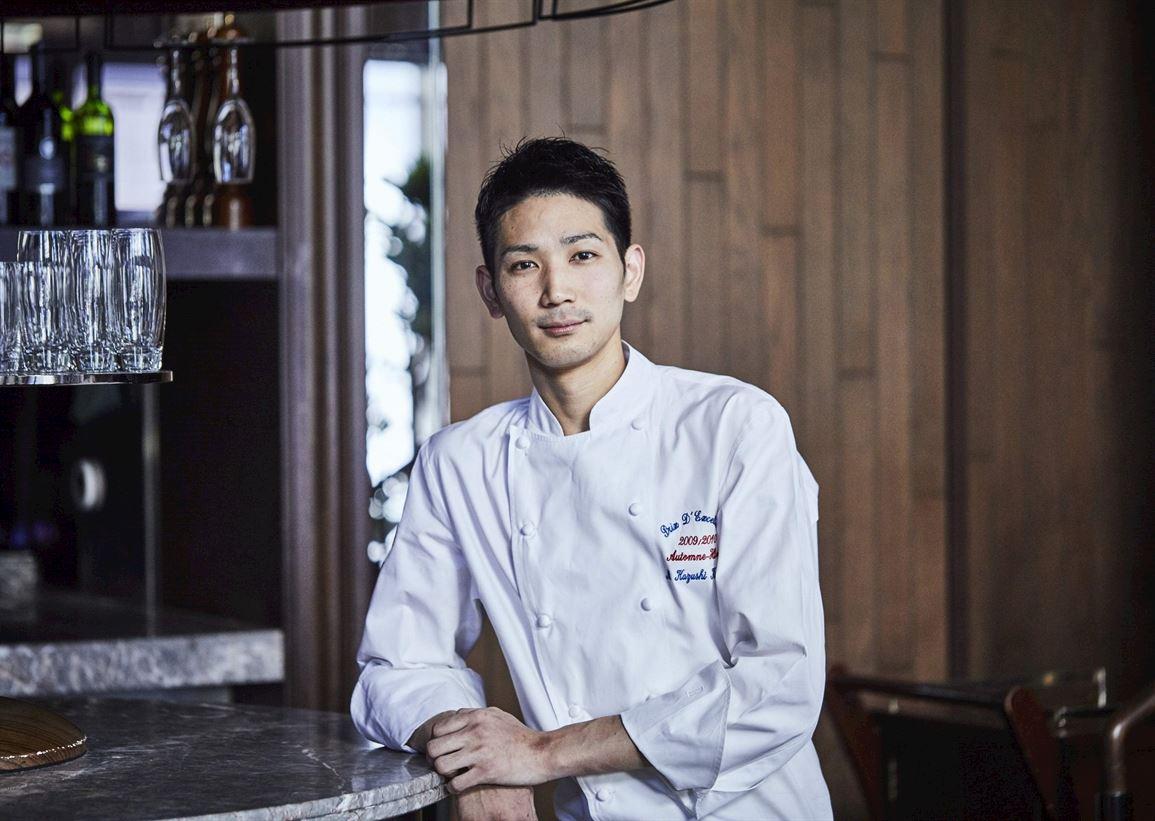 Chef Kazushi Komaji