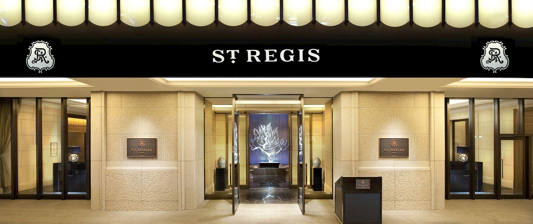 The St. Regis Osaka Entrance